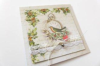 Papiernictvo - pohľadnica vianočná - 7308421_