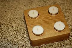 Svietidlá a sviečky - Posledný kus - Limitka - Krásny  Dub 2 - 7310353_