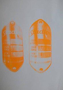 Grafika - Štítok motocykel 2 - 7308592_