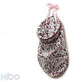 Úžitkový textil - KIBO pink&flowers - 7309225_