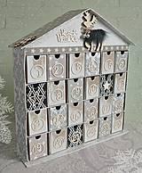 Dekorácie - Fínska rozprávka adventný kalendár - 7308892_