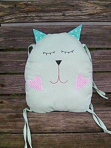 Textil - mačičkové hniezdo - 7310415_