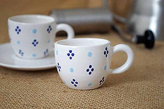 Nádoby - Šálek espresso 4puntík SMpuntík bílý - 7312352_