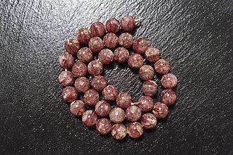 Minerály - Kremeň jahodový B 10mm - 7310063_