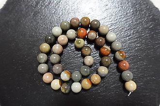 Minerály - Polychrom Jaspis 10mm - 7311670_