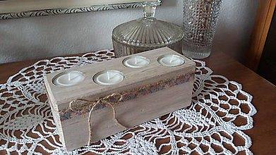 Svietidlá a sviečky - Nie len ako adventný svietnik - 7311167_