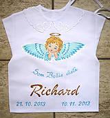 Detské oblečenie - Košieľka na krst - 7311545_