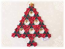 Vianočný stromček Origami 1