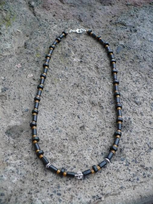 Pánsky náhrdelník drevený   24nika - SAShE.sk - Handmade Náhrdelníky 8091d7c3d55
