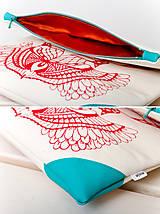 Kabelky - Motýlí se sítotiskem (širší) - 7315701_