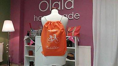 Batohy - batoh/orange-my bike - 7315297_