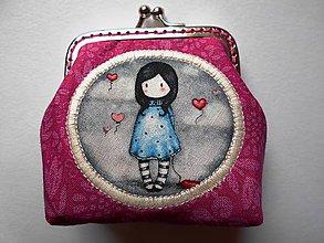 Peňaženky - Minipeňaženka \