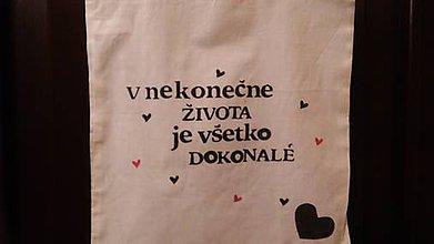Nákupné tašky - Platená taška Život - 7315235_