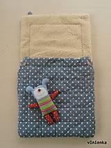 Textil - Merino fusak pre deti 100% Baranček - 7315377_