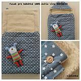 Textil - Merino fusak pre deti 100% Baranček - 7315431_
