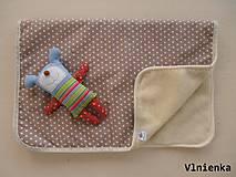 Úžitkový textil - Vlnená deka 100% merino Top super wash - 7316232_