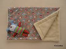 Úžitkový textil - Vlnená deka ovčie rúno 100% merino Top - 7316434_