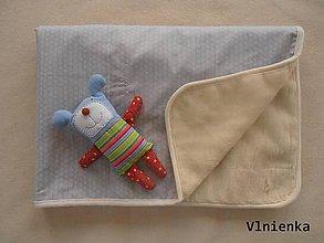 Textil - Deka pre deti 100% MERINO 100 x 140 cm - 7315047_