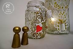 Svietidlá a sviečky - Sada