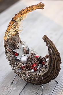 Dekorácie - Vianočná prútěná