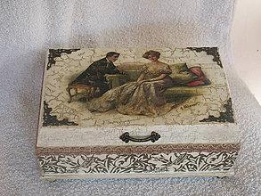 Krabičky - Šperkovnica romantická - 7313453_