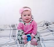Detské súpravy - Súpravička pre dojčatá so srnkami - 7314678_