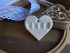 Dekorácie - X-mas heart - 7314587_
