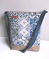 Kabelky - modrý orient - 7313012_
