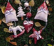 Dekorácie - vianočné ozdôbky bArOKO - 7319602_