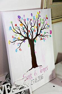 Obrazy - Svadobný strom (50 x 65cm) - 7318205_