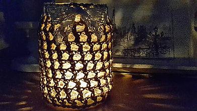 Svietidlá a sviečky - Svietnik Romanca - 7321834_