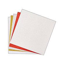 Papier - Sada glitrovaných pohľadníc a obálok 15,2x15,2cm, 24ks - 7318286_