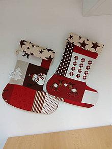Úžitkový textil - Mikulašská čižmička2 - 7320690_