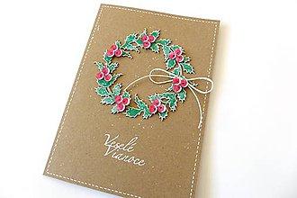 Papiernictvo - pohľadnica vianočná - 7316860_