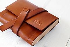 Peňaženky - Peňaženka WALLET BROWN UNI - 7318486_