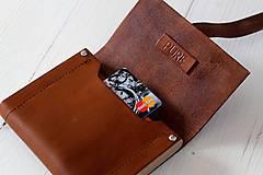 Peňaženky - Peňaženka WALLET BROWN UNI - 7318494_