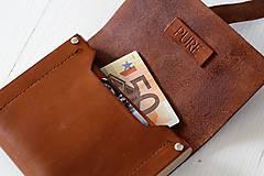 Peňaženky - Peňaženka WALLET BROWN UNI - 7318496_