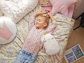 Úžitkový textil - Kvetinkové obliečky - 7320775_