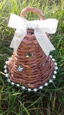 Dekorácie - Vianočný zvonček - 7317047_