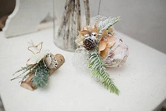 """Dekorácie - Vianočná ozdoba na stromček """"zasnežené sny"""" - 7321222_"""