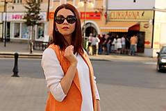 Iné oblečenie - Oranžová vesta - 7319312_