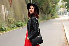 Sukne - Červená kruhová sukňa - 7319587_