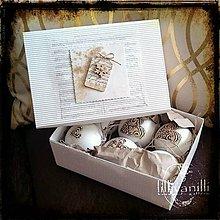 Dekorácie - Vianočné ozdoby na stromček... - 7321843_