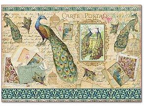 Papier - Ryžový papier Stamperia č.DFS292 - 48x33 cm, ihneď - 7318854_