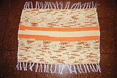 - Tkaný koberec žlto-oranžový - 7320013_