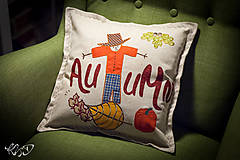 "Úžitkový textil - Vankúšik ""Autumn"" - 7325551_"
