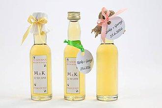 Darčeky pre svadobčanov - MINImedovinka - 7327094_