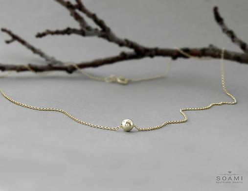 Náhrdelníky - 585 / 14k zlatý náhrdelník - 7325977_