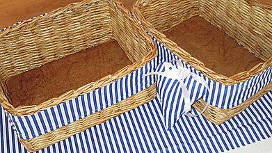 Košíky - Košíky-Bukové s modrým prúžkom - 7324066_