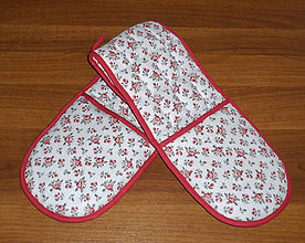Úžitkový textil - chňapka na dve ruky :) - 7322656_